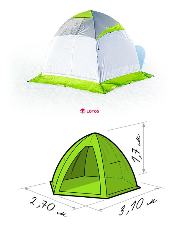 палатка для рыбалки профессионал